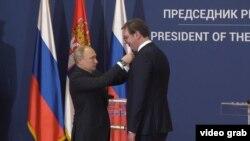 Путин Сербияға не үшін барды?