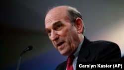 Special Representative for Venezuela Elliott Abrams will now head the Iran policy at the State Department. FILE Photo