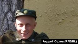 Военнослужащий Влад Орлов, в Петербурге, 2018 год