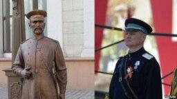 Policijska statua u Minsku i ministar unutrašnjih poslova Igor Šunevič