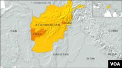 ولایت فراه در مرز ایران