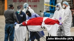 Nýu-Ýorkda pandemiýa 1 müň 700 adamy öldürdi.