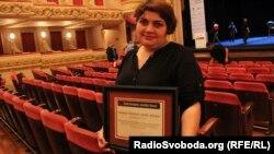 Хадіджа Ісмаїлова, 15 жовтня 2013 року