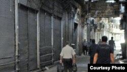 بازار پارچهفروشان تهران، عکس از سایت کلمه
