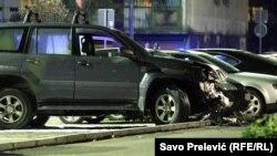 Automobil advokata Velibora Markovića