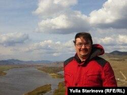 Environmental activist Aleksandr Kolotov