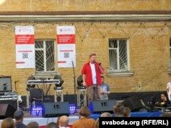 Украінскі паэт і перакладчык Багуслаў Поляк чытае вершы беларускіх паэтаў