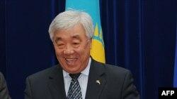 Ерлан Идрисов, министр иностранных дел Казахстана. 27 ноября 2012 года.