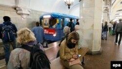 Московский метрополитен, архивное фото