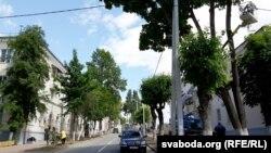 На будынках па вуліцы Шагала будзе чырвоная дахоўка
