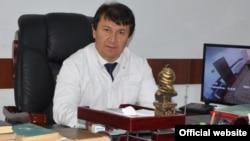 Tajik Health Minister Jamoliddin Abdullozoda (file photo)