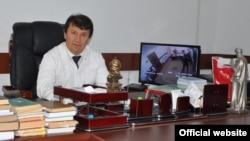 Глава Минздрава Таджикистана Джамолиддин Абдуллозода.
