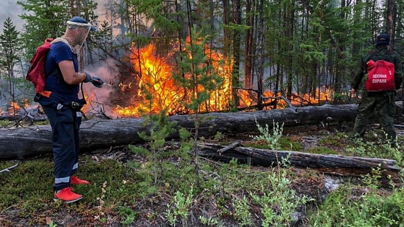 Firefighters Get Help From Russian Military To Battle Major Blazes In Yakutia