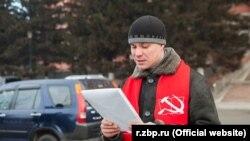 Депутат Заксобрания Забайкалья от КПРФ Роман Берг