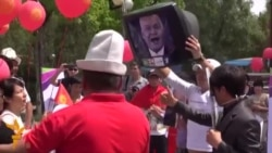 «Світ у відео»: У Бішкеку протестували проти вступу країни до Митного Союзу