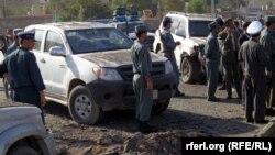 Pamje pas një sulmi të mëparshën në provincën Baghlan
