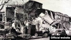 Aşgabat şäheri. 1948 ý.