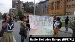 Протест против Законот за абортус, јуни 2013.