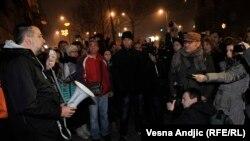 Novinari protestovali zbog odnosa države prema medijima