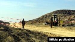 Ադրբեջանցի զինծառայողները զորավարժությունների ժամանակ, արխիվ