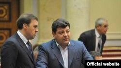 Під час пленарного засідання Верховної Ради України, 19 листопада 2010 року