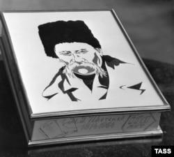 Видання «Кобзаря» до 150-річчя від дня народження Тараса Шевченка. Київ, 1 лютого 1964 року