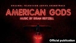 Detaliu de pe coperta albumului American Gods Original Series Soundtrack, Brian Reitzell, 2017
