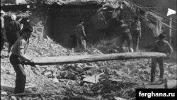 Тошкентда 1966 йилда рўй берган зилзилада пойтахтнинг катта қисмига зиён етган эди.