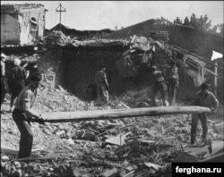 Последствия землетрясения в Ташкенте 1966 года