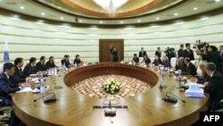 Саммит глав правительств стран-членов ШОС. Астана, Казахстан. 30 октября 2008 года
