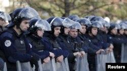 Pjesëtarë të Policisë së Kosovës. Foto nga arkivi