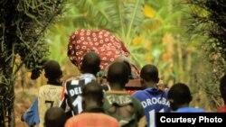 """Scena iz filma """"Kiruna-Kigali"""""""