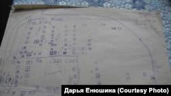 Карта Старо-Шумилово