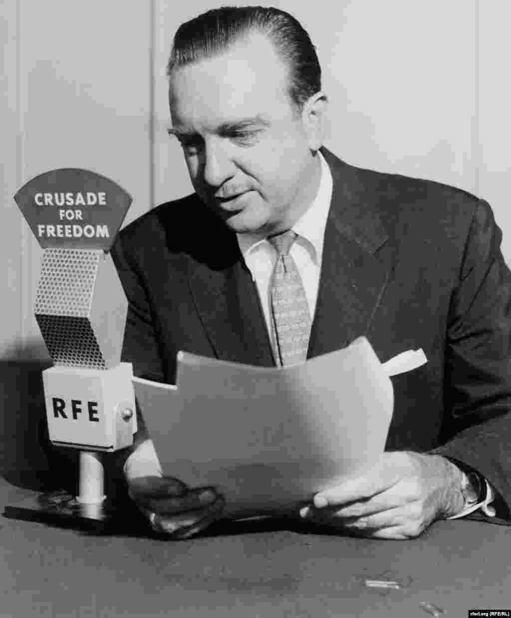 U.S. journalist Walter Cronkite narrates a film about RFE commissioned by the National Committee for a Free Europe-1960s - U.S. journalist Walter Cronkite narrates a film about RFE commissioned by the National Committee for a Free Europe in the 1960's.