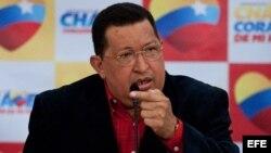 Венесуэла президенті, президенттіктен үміткер Уго Чавес.