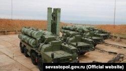 Российские комплексы С-400 в аннексированном Севастополе