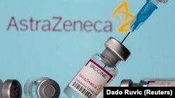 """Вакцината на компанијата """"Астра Зенека""""."""