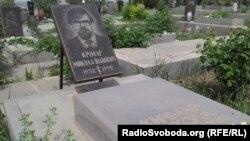 Могила Миколи Кічмара, Єреван, 9 травня 2012 року