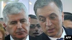 Dragan Čovic i Filip Vujanović