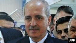 Түркия премьер-министрінің орынбасары Нуман Куртулмуш.
