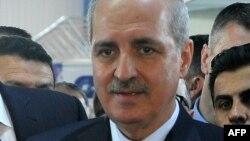 Заместитель премьер-министра Турции и пресс-секретарь турецкого правительства Нуман Куртулмуш.