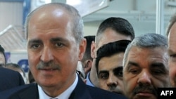Turkish Deputy Prime Minister Numan Kurtulmus (file photo)