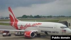 Самолет авиакомпании AirAsia.