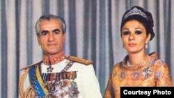 Mohammad Reza Shah Pahlavi and queen Farah during monarch. File photo