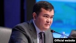 Министр индустрии и инфраструктурного развития Женис Касымбек.