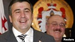 Михаил Саакашвили и Каха Бендукидзе