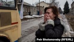 Дебальцево. 3 февраля 2015. Фото Петр Шеломовский