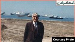 الجواهري على شواطئ اثينا عام 1978