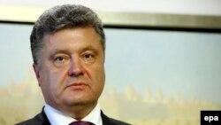 Украинаның жаңа сайланған президенті Петр Порошенко. Варшава, 4 маусым 2014 жыл.