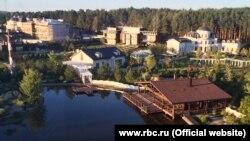 Снимок дачи заместителя руководителя администрации президента России Вячеслава Володина, опубликованный изданием RBC Daily.